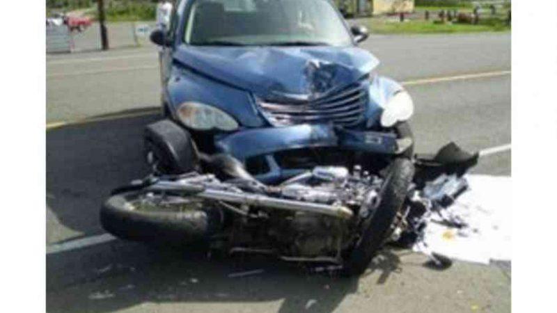 मुससी मोड़ के पास सड़क दुर्घटना में दंपती जख्मी