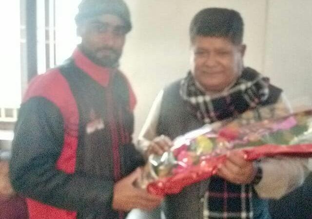नगर विकास मंत्री से चंदन कुमार नगर मंडल भाजपा ने मुलाकात कर जहानाबाद के विकास की चर्चा