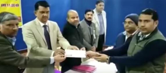 जहानाबाद के टाउॅन हाॅल में किया गया ऋण वितरण