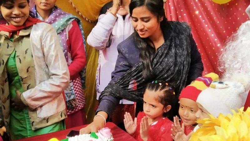 एनबी किड्स पब्लिक स्कूल जहानाबाद में मंगलवार को क्रिसमस और फन को धूमधाम से मनाया गया।