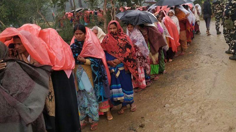 जहानाबाद पैक्स चुनाव मखदुमपुर प्रखंड एवं रतनी फरीदपुर प्रखंड में शांतिपूर्ण मतदान संपन्न हुआ