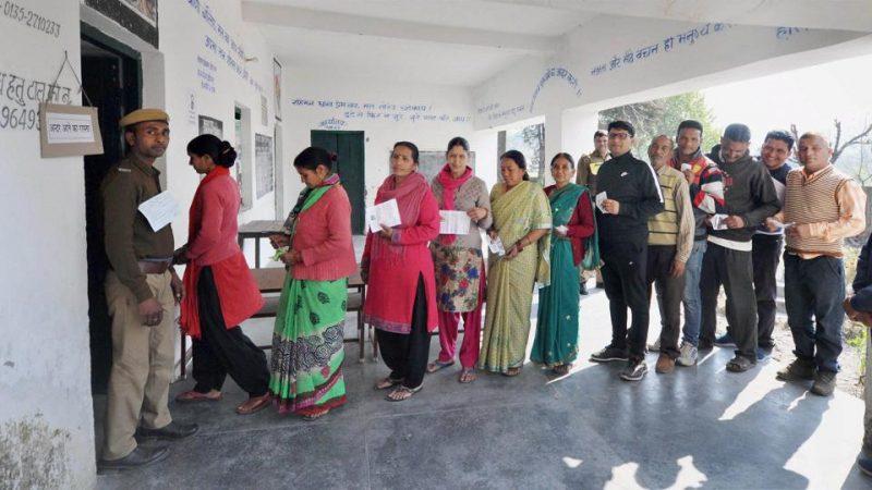 काको व जहानाबाद  में 57 फीसद मतदाताओं ने किया मताधिकार का प्रयोग
