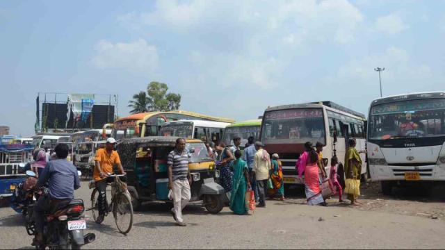 50 लाख 500 में हुई जहानाबाद बस स्टैंड की बंदोबस्ती