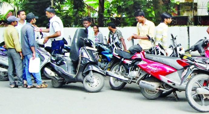 जहानाबाद में वाहन जांच में 23 हजार जुर्माना