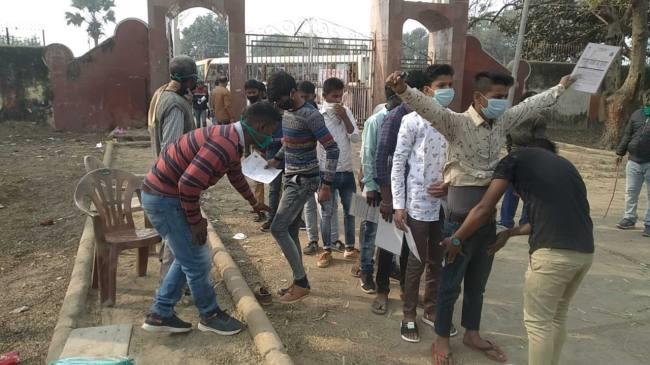 जहानाबाद: मैट्रिक परीक्षा के पहले दिन धराए दो मुन्ना भाई