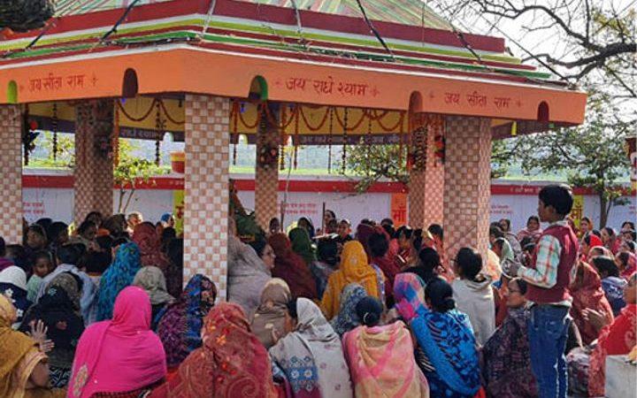अखंड कीर्तन से भक्तिरस में सराबोर रहा निजामुद्दीनपुर
