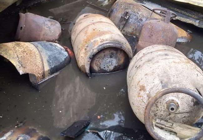 बिहार के किशनगंज में सिलेंडर विस्फोट, धमाके के साथ परिवार के पांच सदस्यों की जिंदा जलकर मौत