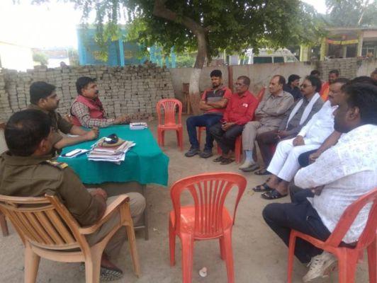 जहानाबाद: शांति समिति की बैठक में सांप्रदायिक सौहार्द बनाए रखने की लोगाें से अपील