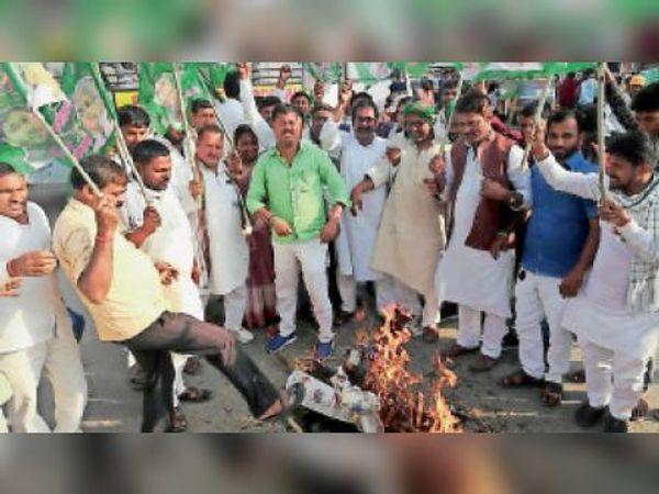 जहानाबाद: लाठी और डंडे से नहीं दबेगी विरोधियों की आवाज, तानाशाही का जमकर होगा विरोध