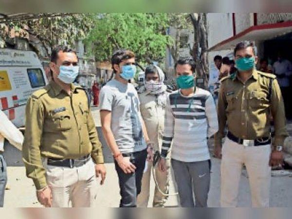 जहानाबाद: दो जगह से पुलिस ने पांच वारंटियो को दबोचा