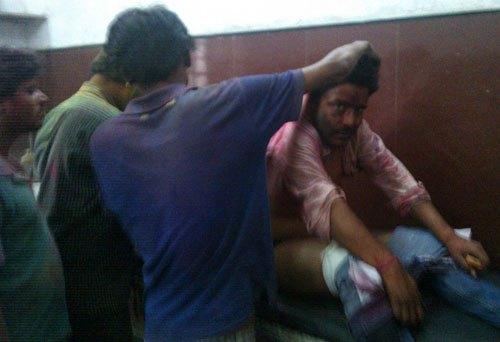 जहानाबाद: मारपीट एवं सड़क दुर्घटना में करीब एक दर्जन घायल