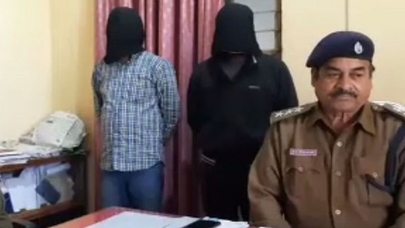 जहानाबाद ऊंटा मोड़ के समीप ऑटो पर लदी 144 लीटर देसी शराब जब्त, दो धंधेबाज गिरफ्तार